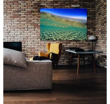 Photo d'art nature sous l'eau avec des couleurs claires pour votre décoration murale design
