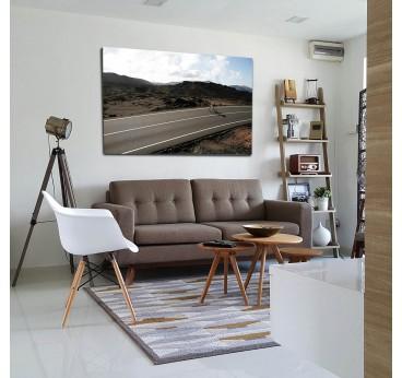 Cycling art photo design wall decoration on aluminium frame for interior