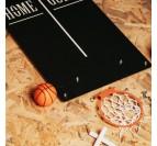 Kit d'assemblage de notre déco jeux métal basket ball pour votre intérieur