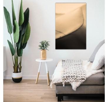 Photo d'art sur tableau aluminium de la dune du Pilat pour votre déco murale
