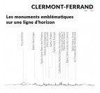 Symbols and places of the Clermont-Ferrand metal skyline