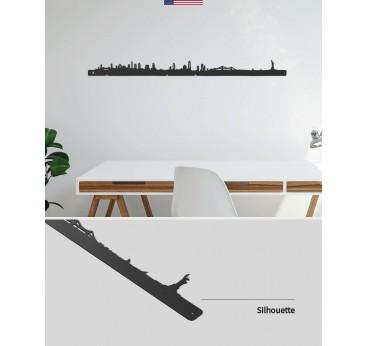 Skyline décoration murale de la ville de New York pour votre intérieur