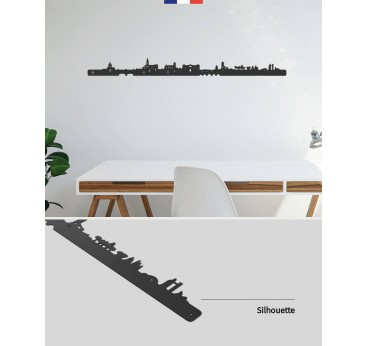 Toulouse metal skyline for your interior