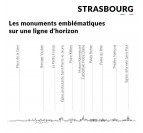Details of the Strasbourg metal skyline