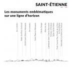 Details of the Saint-Etienne metal skyline
