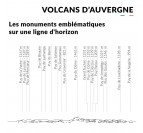 Details of our Volcans d'Auvergne skyline wall decoration