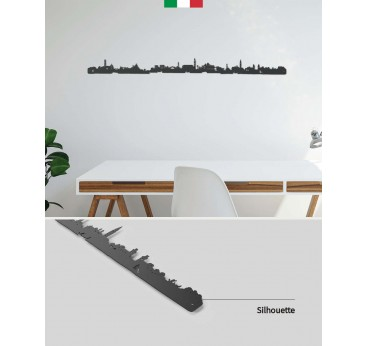 Skyline Venice in metal wall decoration for your interior