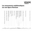 Details of our Venise skyline for metal wall decoration