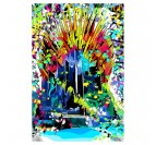 Street art canvas wall decoration of Game of Thrones for a trendy interior