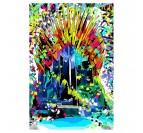 Tableau street art Games of Thrones pour un intérieur coloré