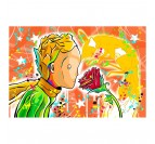 Little prince pop art canvas for a design wall decoration
