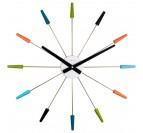 Horloge murale Plug Inn Color avec de multiple couleurs pour votre déco murale