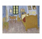 Painting reproduction frame of the Bedroom from Van Gogh