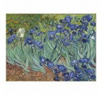 Reproduction oil painting on canvas of the Iris for your wall decoration