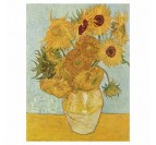 The sunflowers painting reproduction for your interior wall decoration