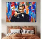 Gatsby pop art wal art decoration for a stylish interior