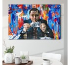 The wolf of wall street fine art canvas from collection edition