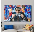 Wolf of wall street modern canvas for interior decoration