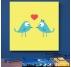 Les Oiseaux Amoureux Tableau Déco
