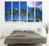 South Beach Miami Decoration Canvas