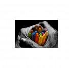 Tableau Design Crayons de Couleur