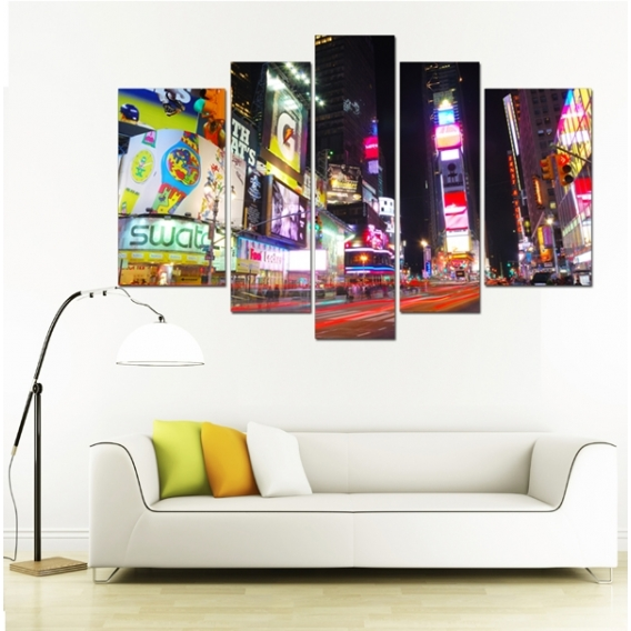 New York Street city art print
