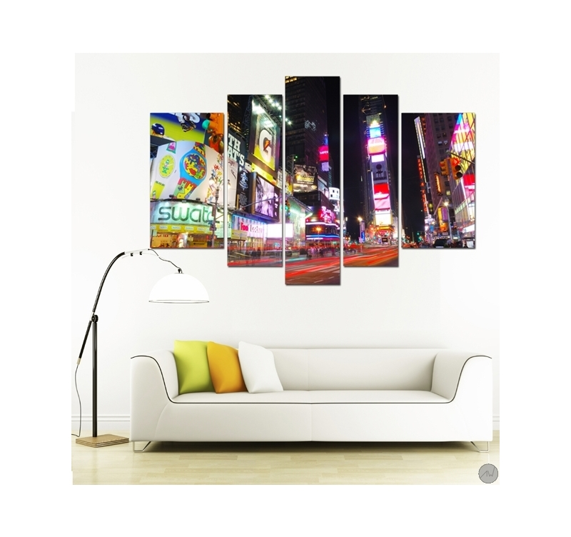 Tableau ville rue de new york artwall and co - Tableau triptyque new york ...