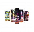 Tableau Ville Rue de New York