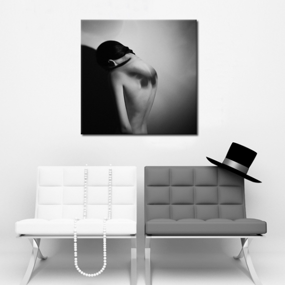 Woman Contemporary Art Print