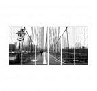 Pont New York tableau ville