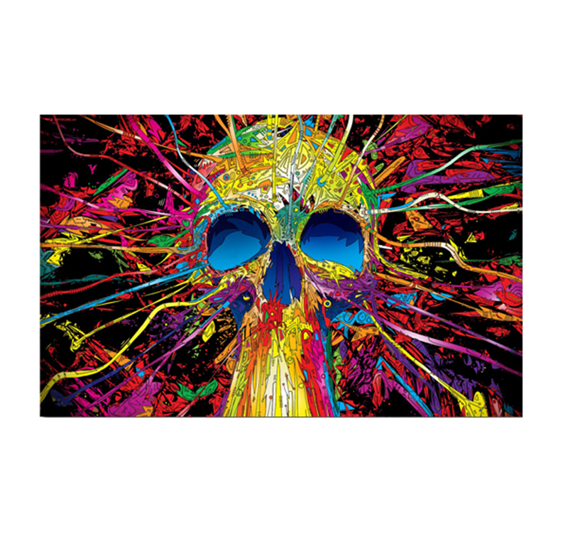 Tableau moderne scull color blast for Colors that pop out