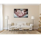 Hands of Love Modern Art Print
