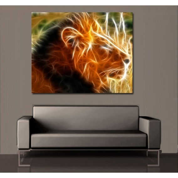 L'Aura du Lion Tableau Mural