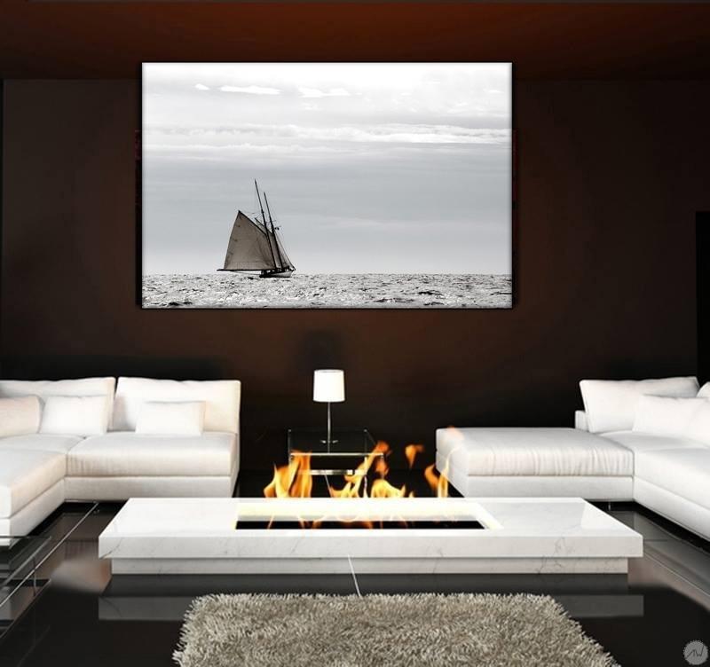 Tableau contemporain solitude du marin artwall and co for Mobilier de luxe contemporain