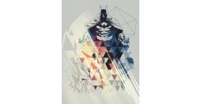 Batman Metal Wall Poster