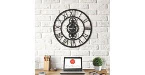 Horloge Murale Metal