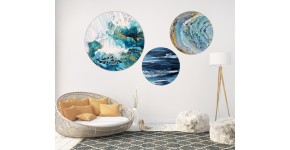 Round Wall Canvas