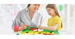 Paint by number to paint : DIY paintings to paint yourself