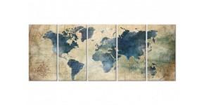 Tableau Cartes du Monde
