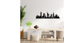City deco skyline