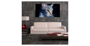Tableau de chat : Décoration murale moderne aux inspirations félines