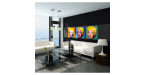 Marilyn Monroe wall art : Glamorous decorative canvases of the actress