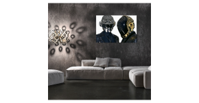 Daft Punk canvas : Modern wall decorations of Daft Punk