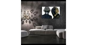 Daft Punk Canvas