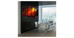 Tableau déco arbre : Une touche nature et verte en tableau mural
