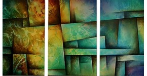 Oil Painting Triptych