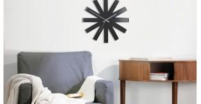 Horloge murale artwall and co for Grandes horloges murales design