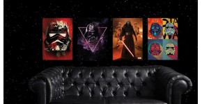Poster Metal Star Wars