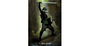 Poster Metal Jeux Vidéo