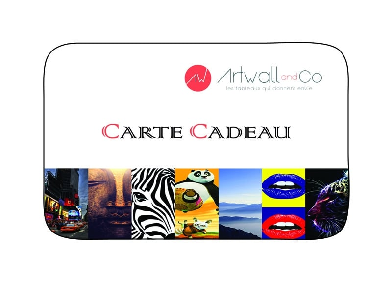 Carte cadeau Artwall and Co
